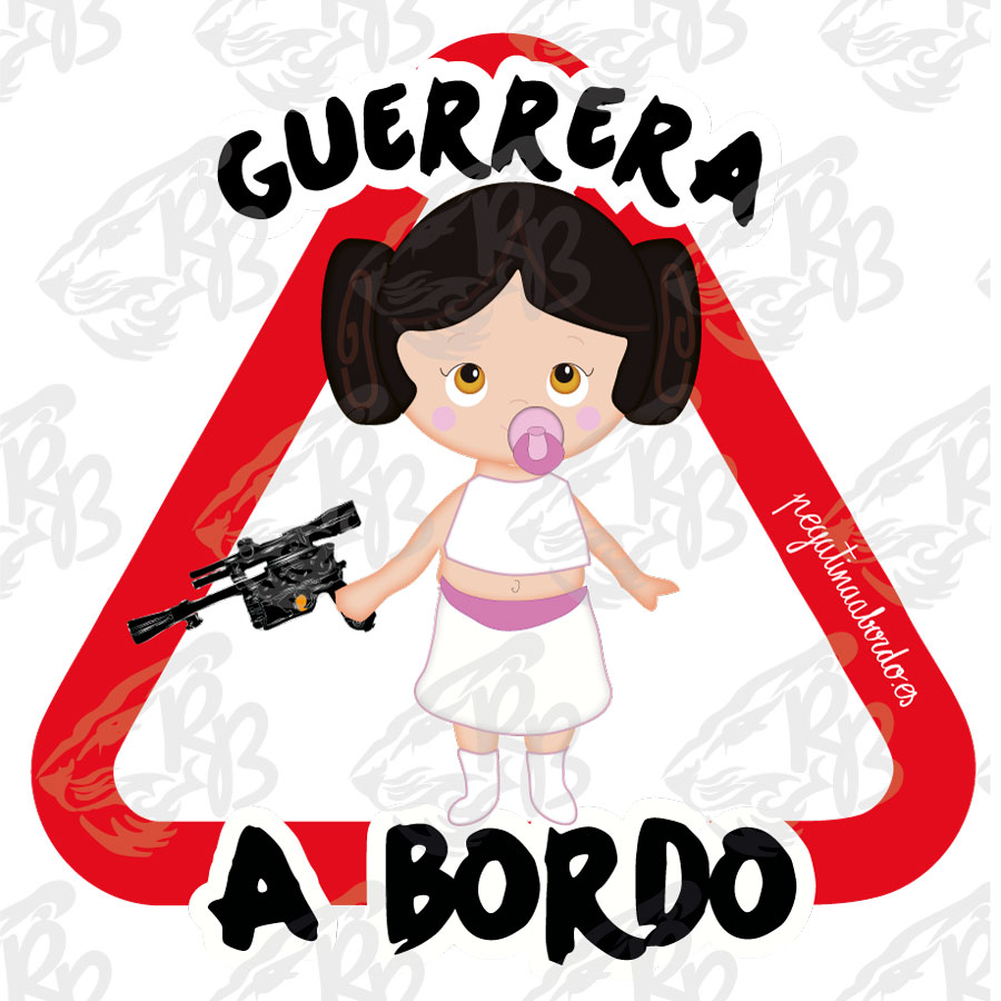 GUERRERA PRINCESA A BORDO