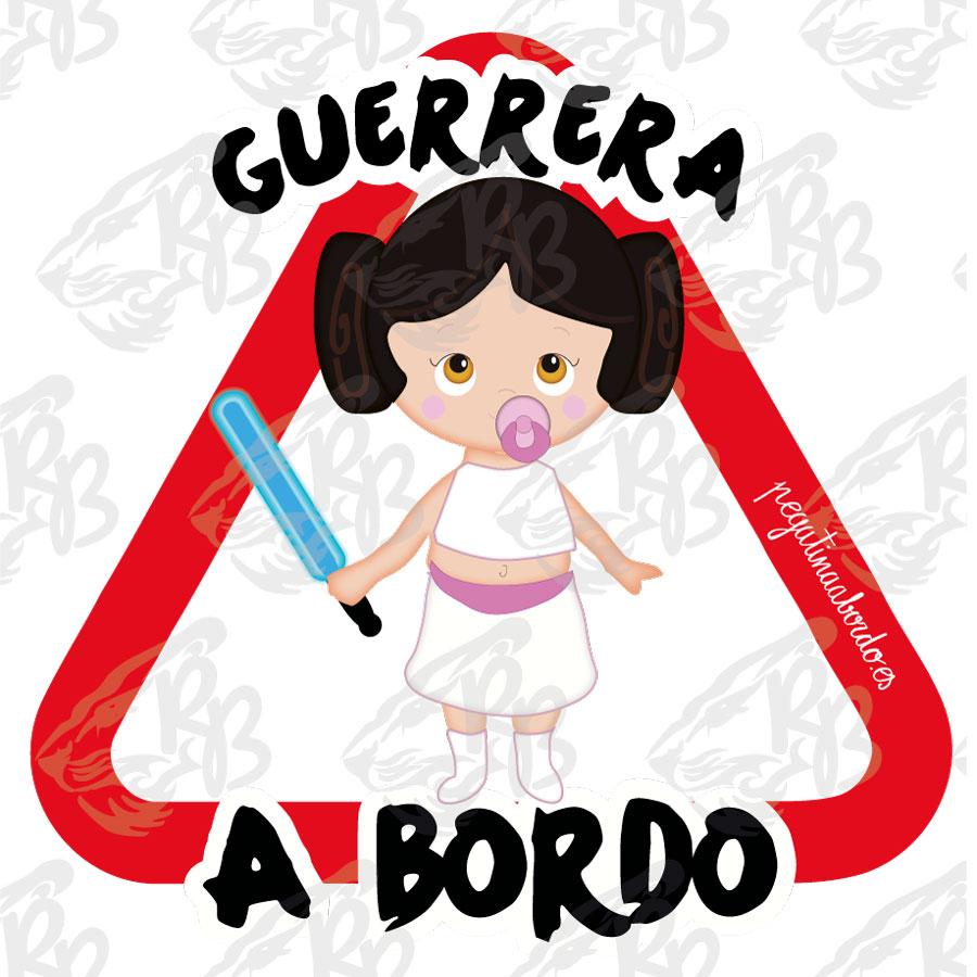 GUERRERA ESPADA LASER A BORDO