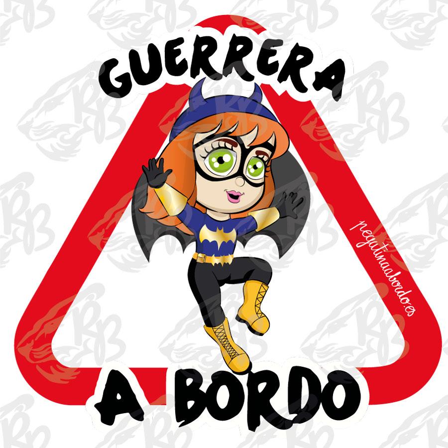 GUERRERA BATGIRL A BORDO