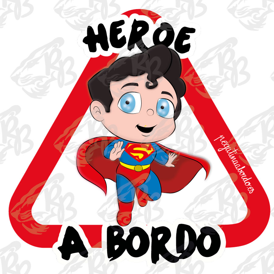 HÉROE SUPER BEBE A BORDO