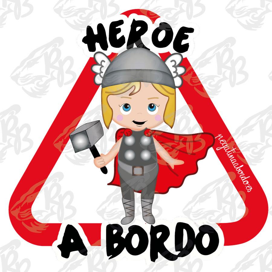 HEROE MARTILLO BEBE A BORDO