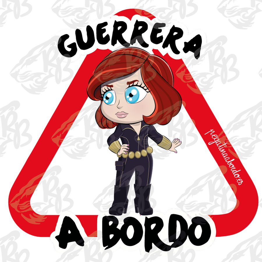 GUERRERA BLACK W A BORDO