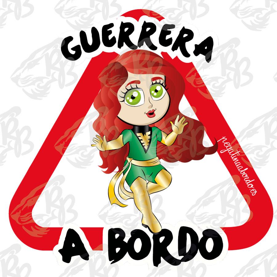 GUERRERA FUEGO A BORDO