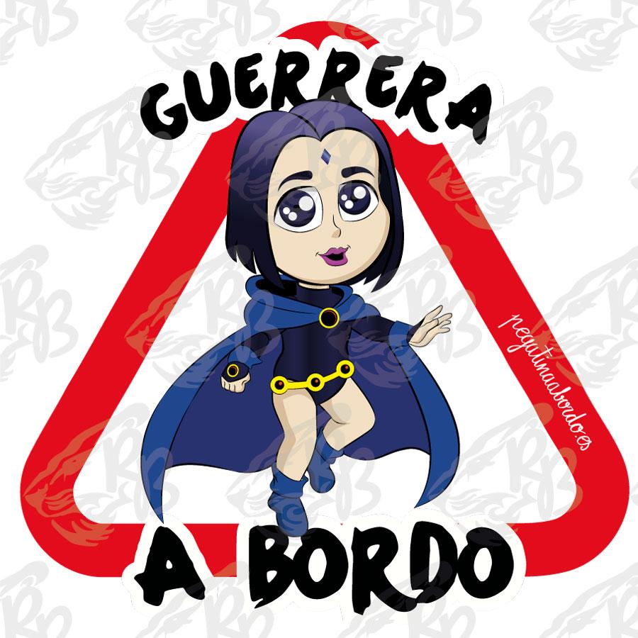 GUERRERA CAPA A BORDO