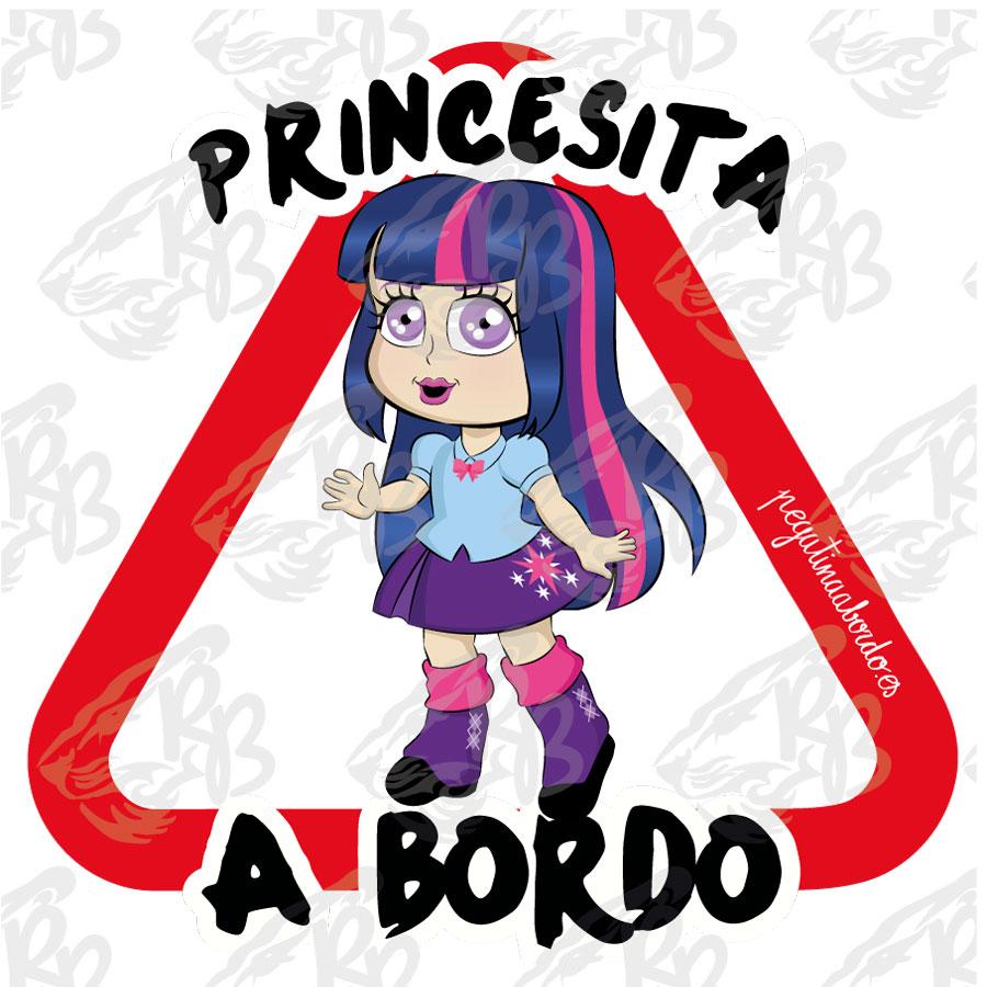 PRINCESITA ENCANTADORA A BORDO