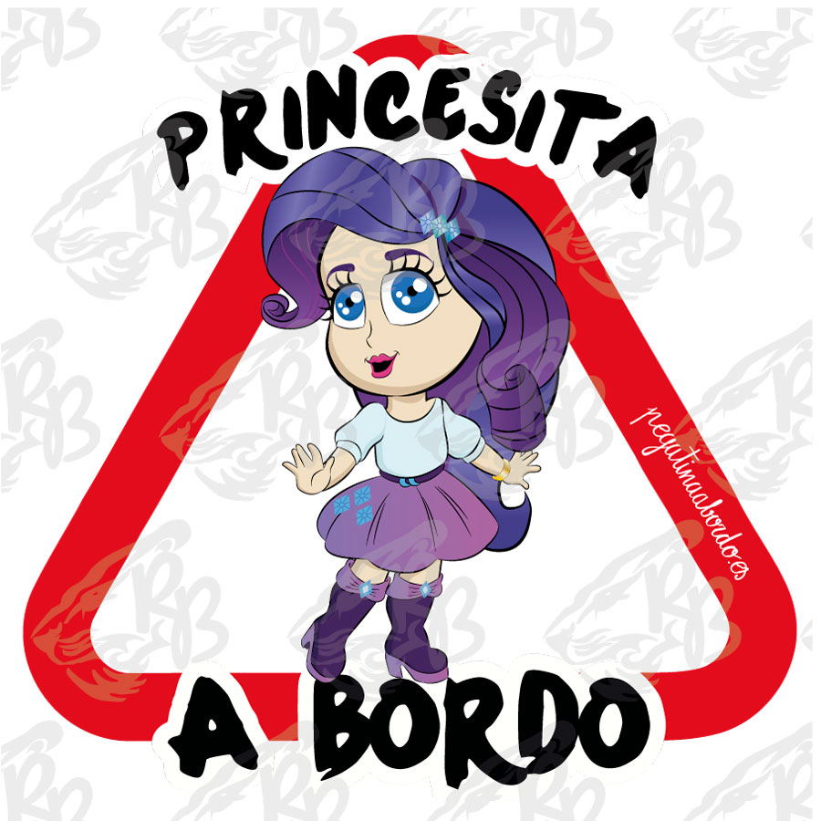 PRINCESITA LISTA A BORDO
