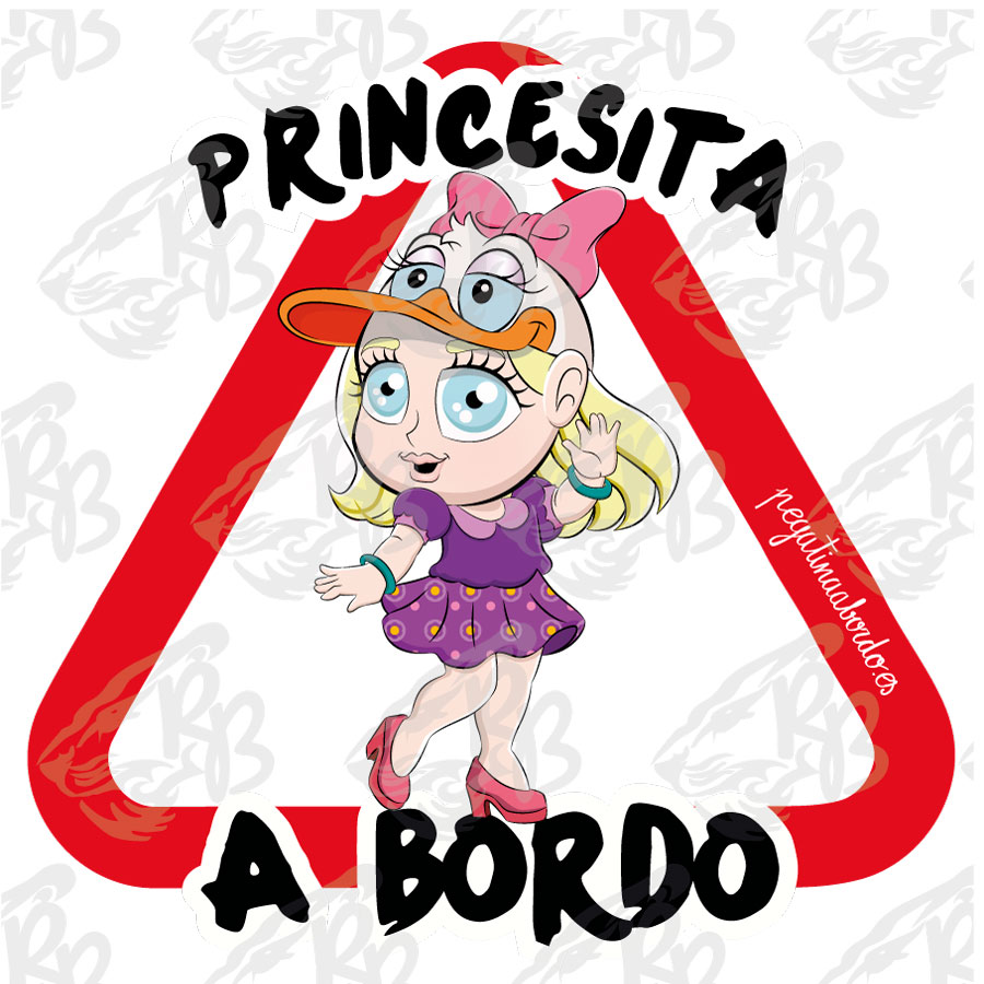 PRINCESITA PATA A BORDO