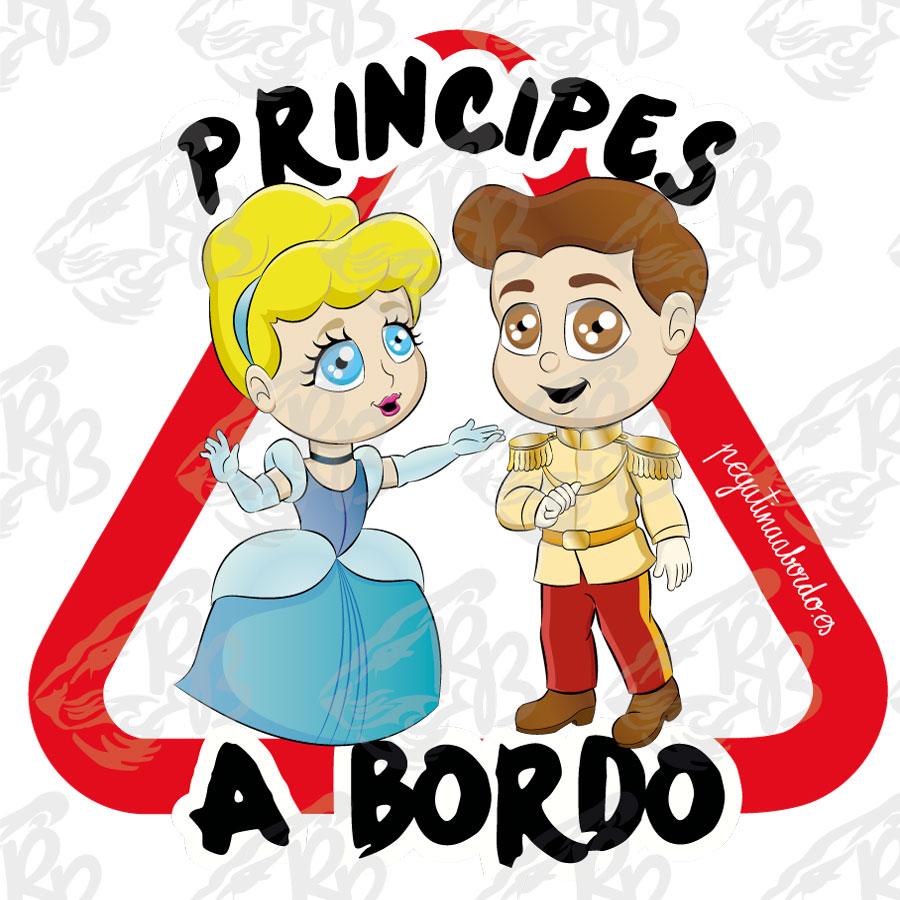 PRINCIPES ENCANTADOR Y AMOROSA A BORDO