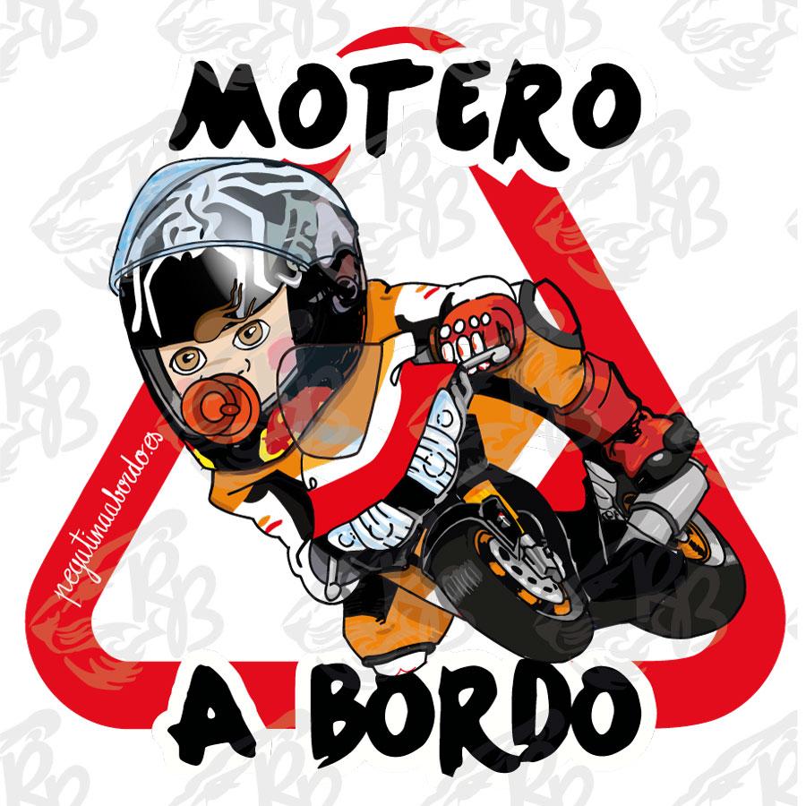 MOTERO RACING MARC NIÑO A BORDO