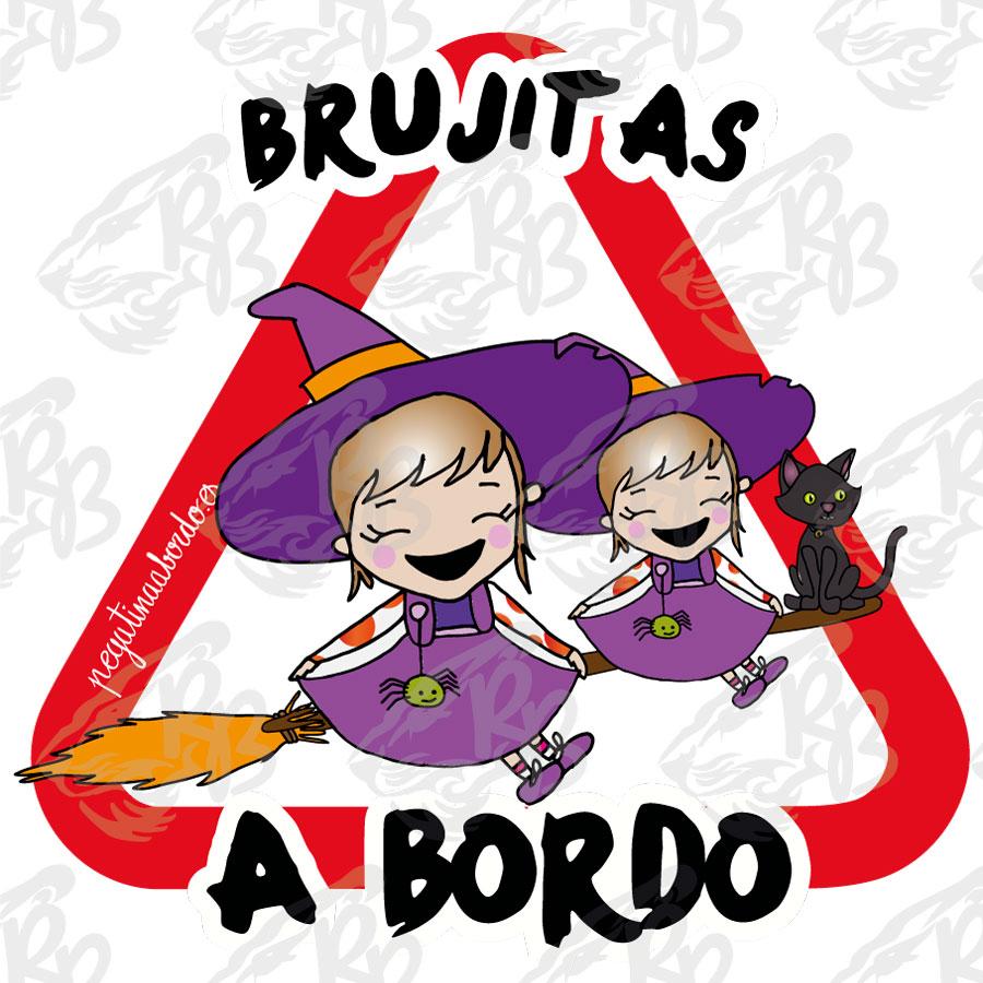 BRUJITAS Y GATO A BORDO