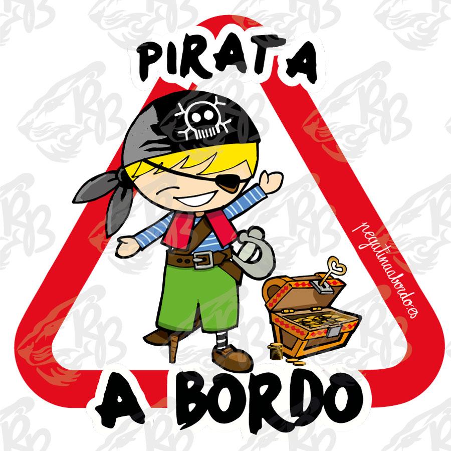 PIRATA CHICO CON TESORO A BORDO