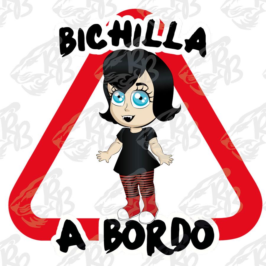 BICHILLA DRÁCULA A BORDO