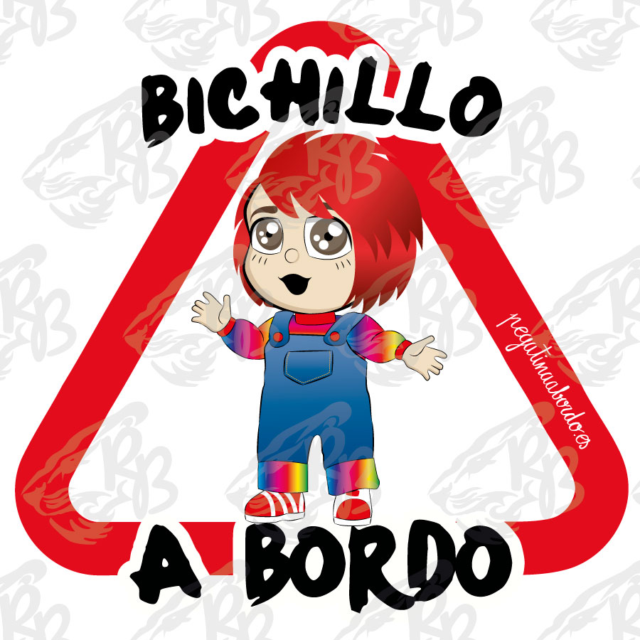 BICHILLO CHUCKY A BORDO
