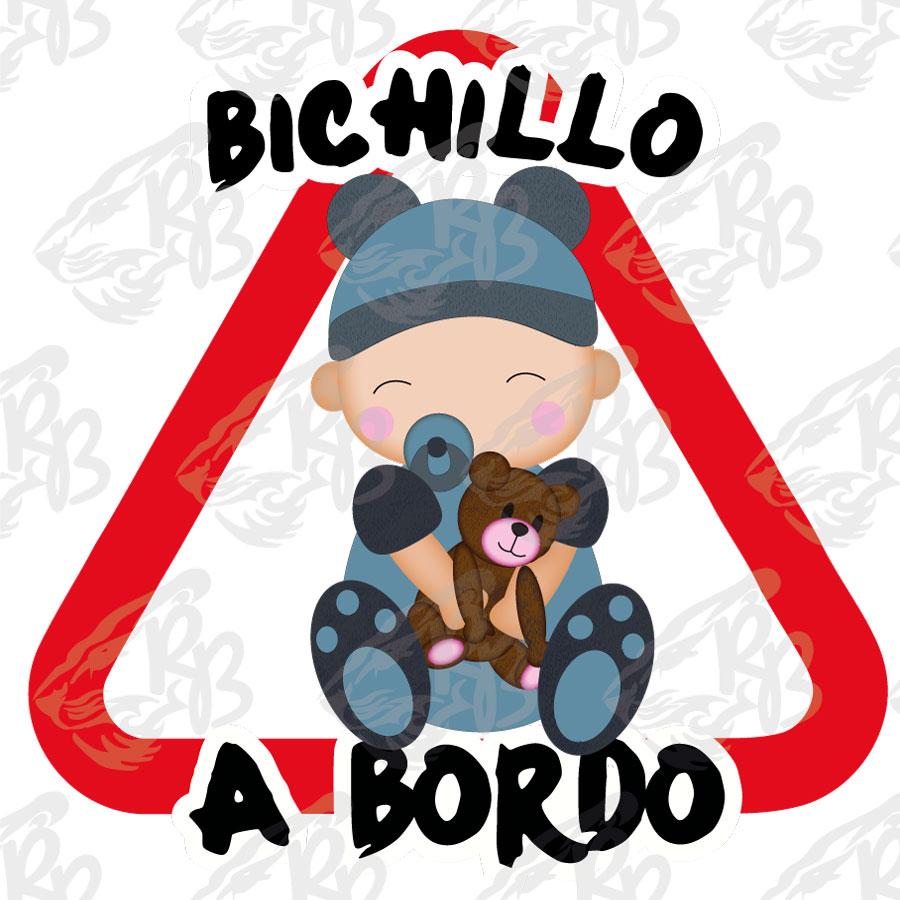 BICHILLO BEBE OSITO A BORDO