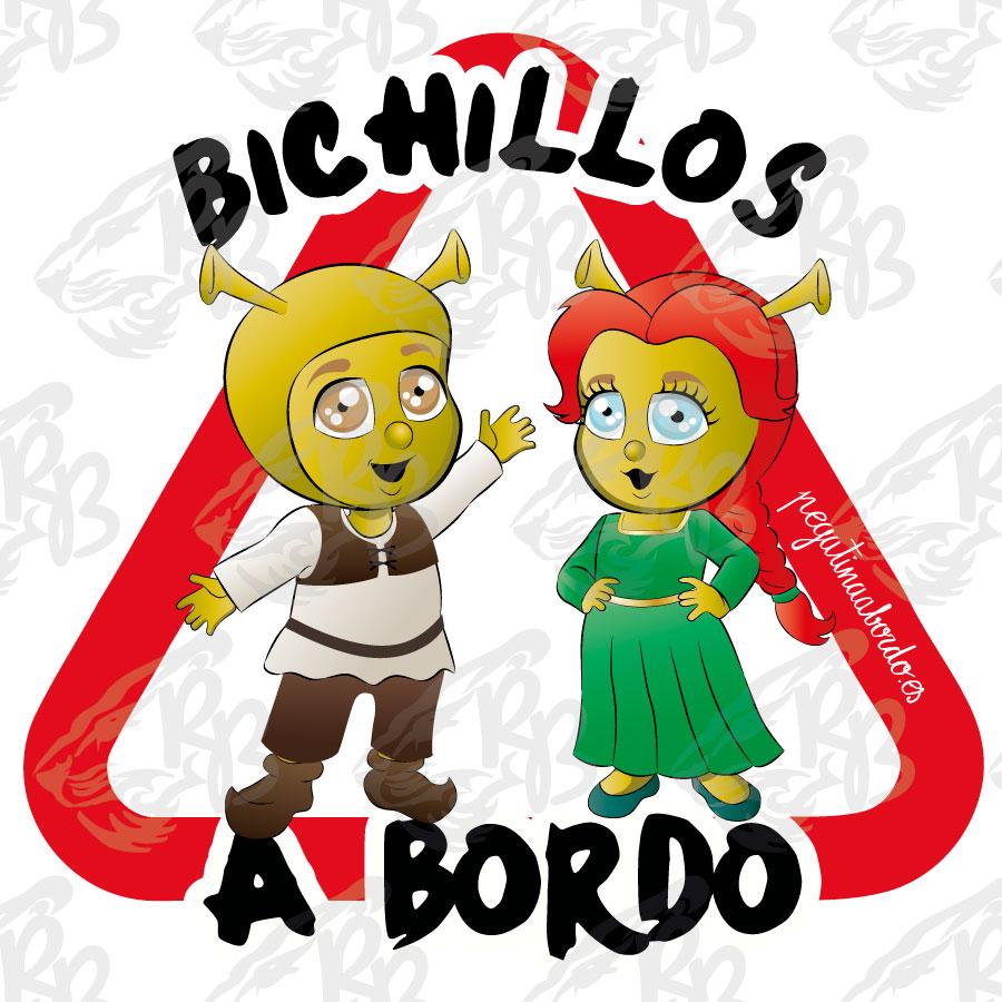 BICHILLOS OGROS A BORDO