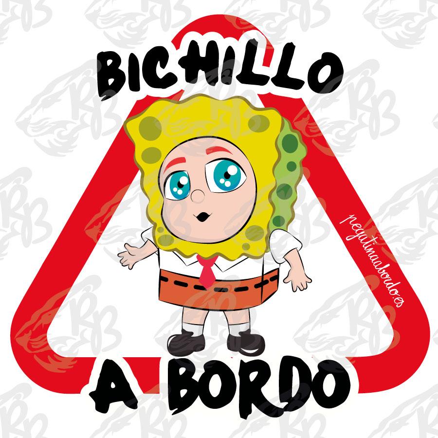 BICHILLO ESPONJA A BORDO