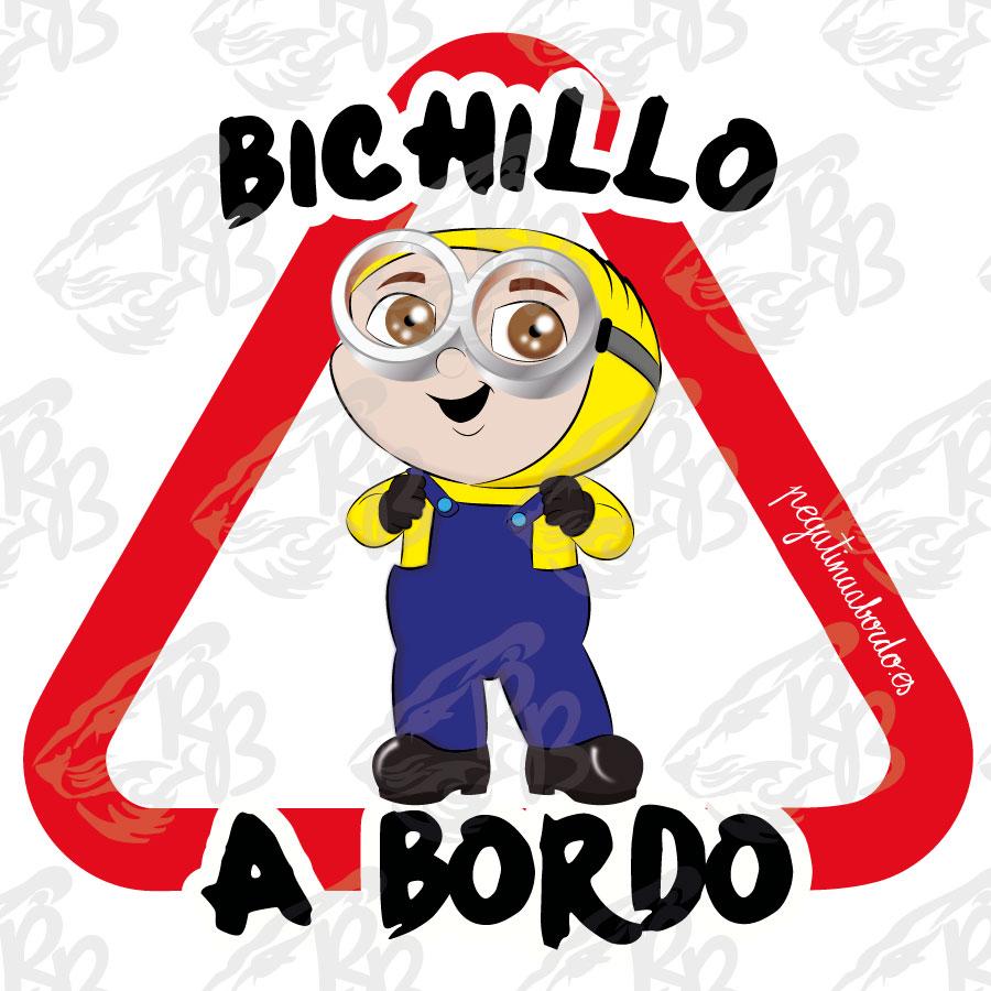 BICHILLO AMARILLO A BORDO