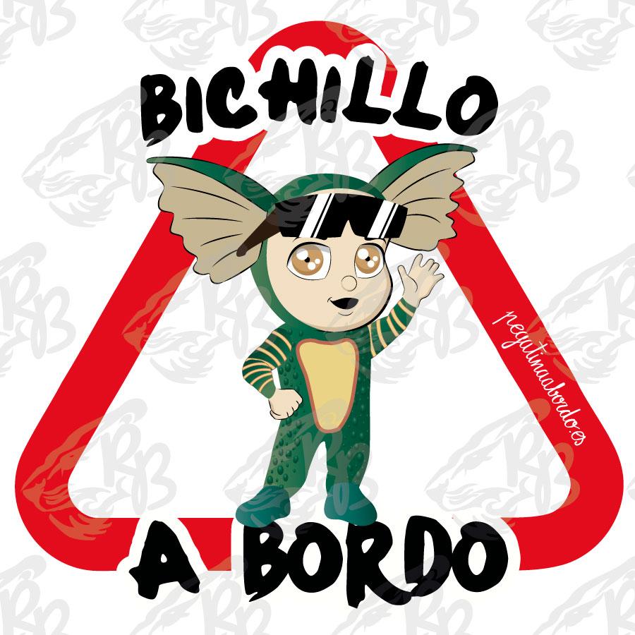 BICHILLO GAFAS A BORDO