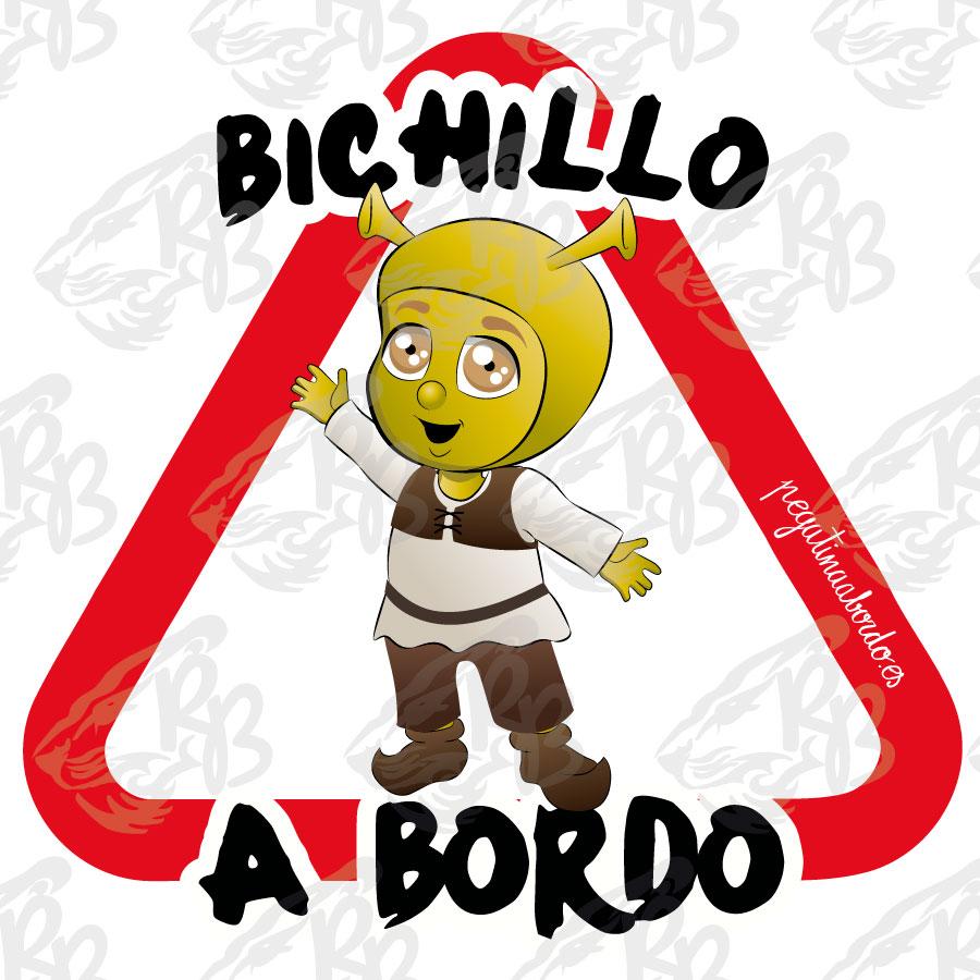 BICHILLO OGRO A BORDO
