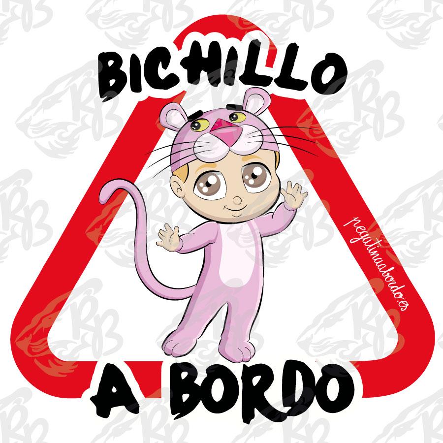 BICHILLO PANTERA A BORDO