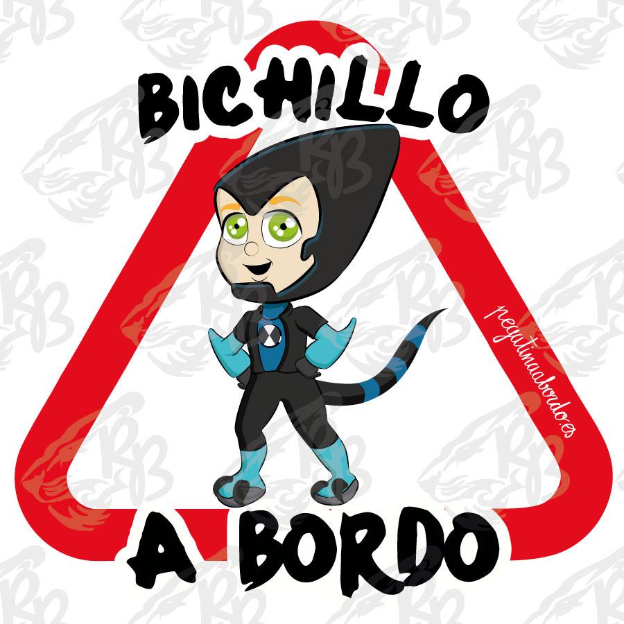 BICHILLO ALIEN A BORDO