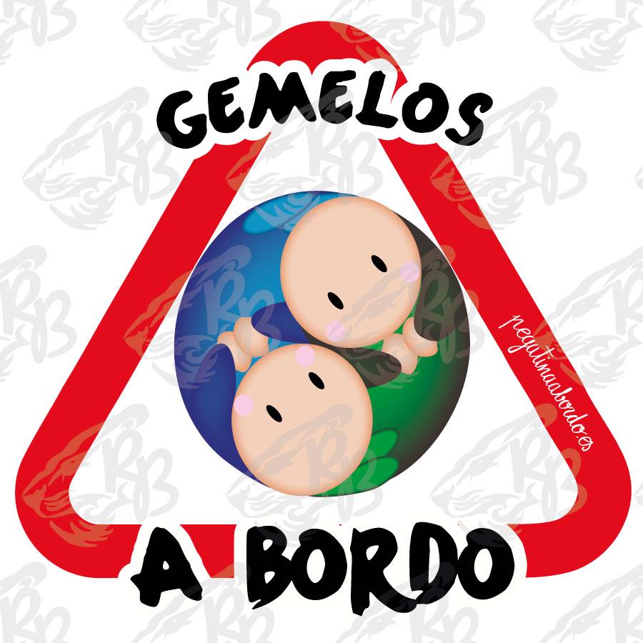 GEMELOS AZUL/VERDE A BORDO