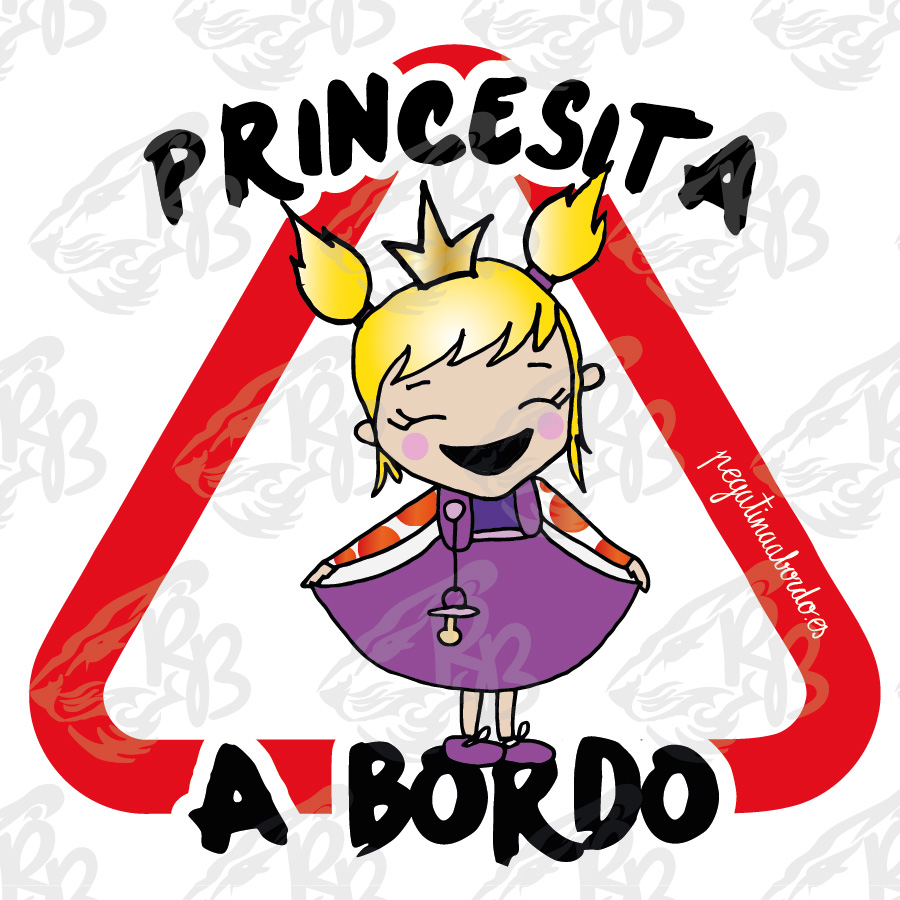 PRINCESITA RUBIA A BORDO
