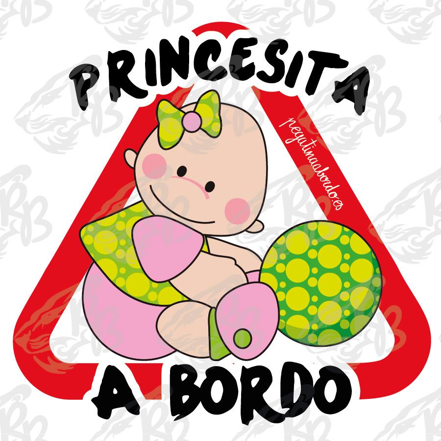 PRINCESITA BEBE A BORDO