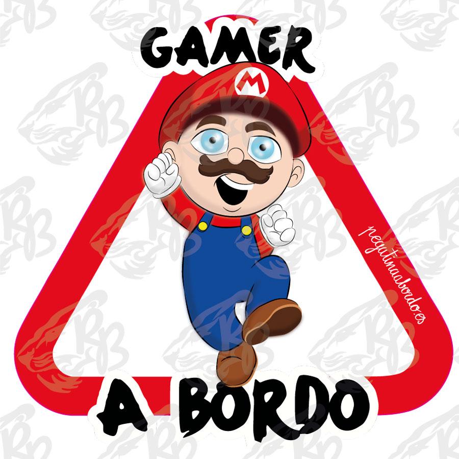 GAMER MARIO A BORDO