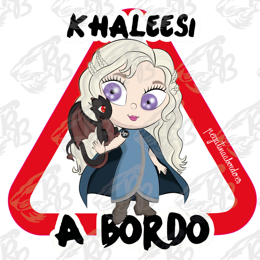KHALEESI A BORDO