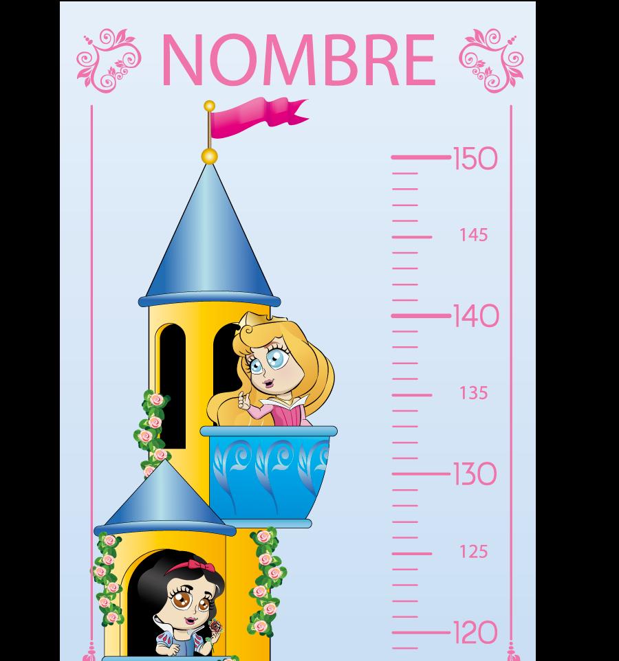 MEDIDOR INFANTIL PRINCESAS