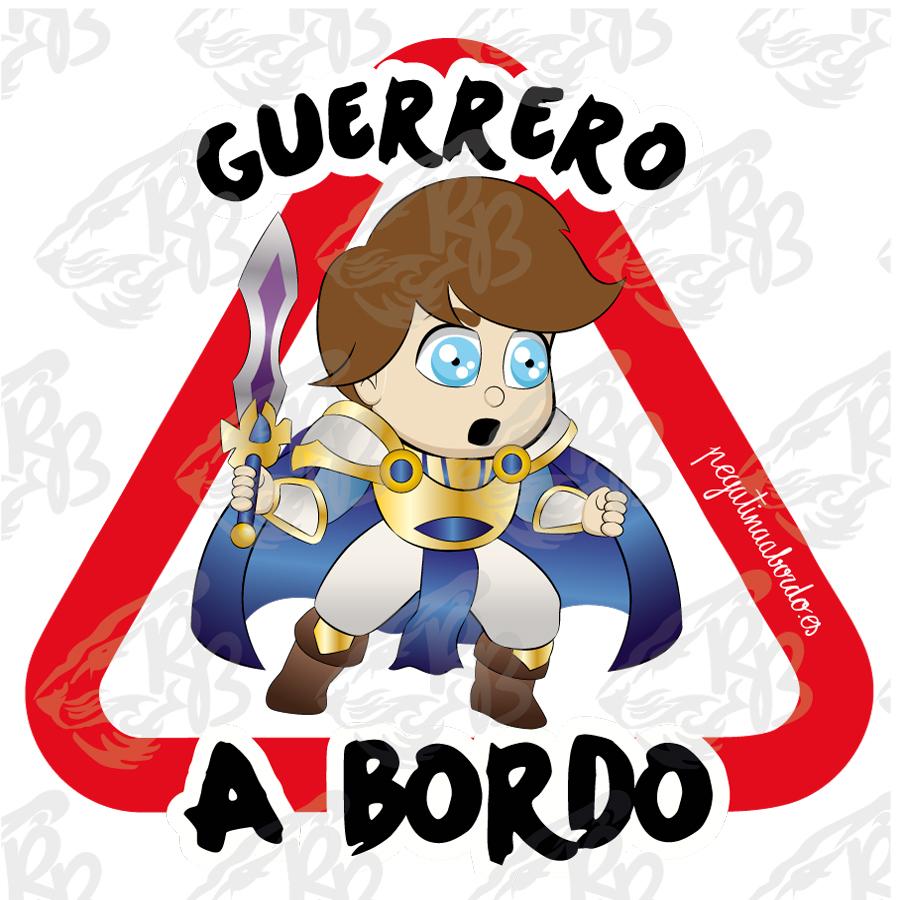 GUERRERO CAPA AZUL A BORDO