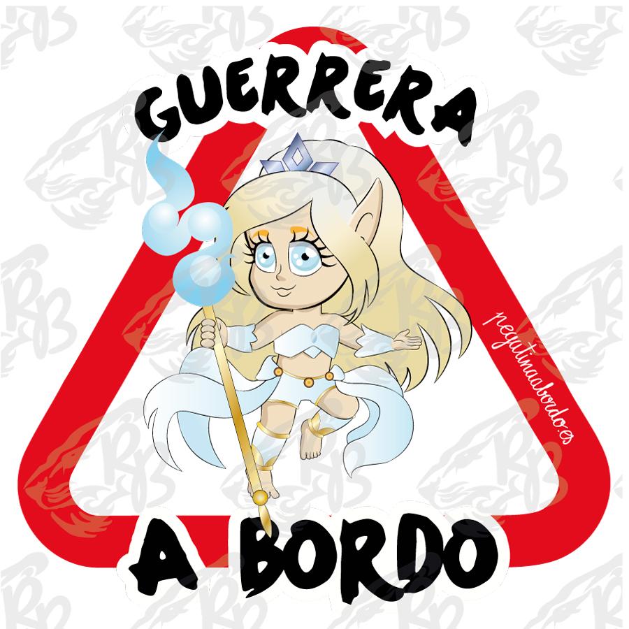 GUERRERA PROTECTORA A BORDO