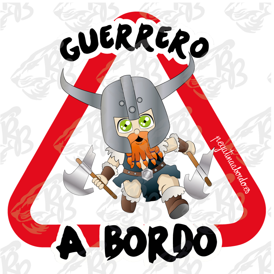 GUERRERO VIKINGO A BORDO
