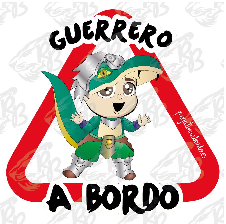 GUERRERO CAIMÁN A BORDO