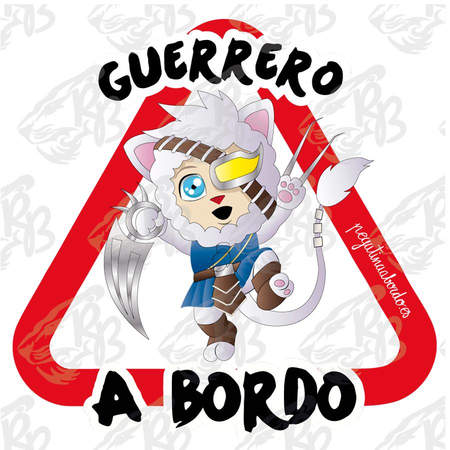 GUERRERO ACECHADOR A BORDO