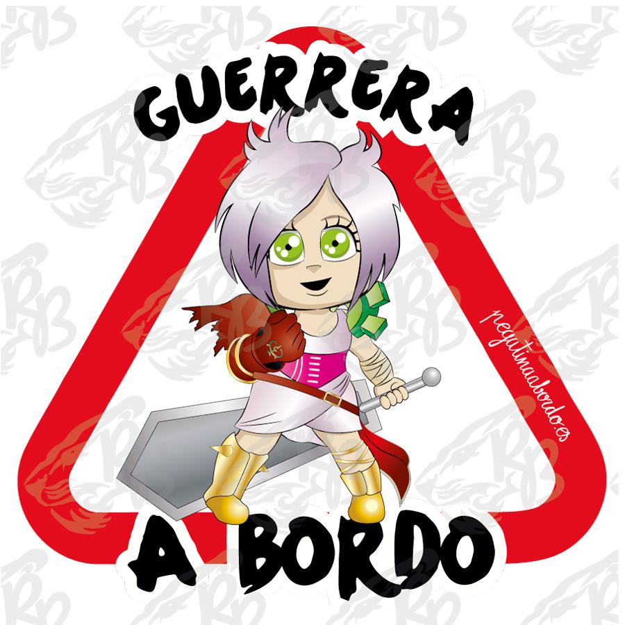 GUERRERA CON GUANTE Y ESPADA