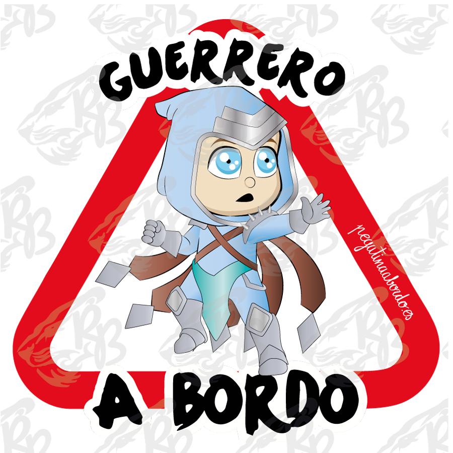 GUERRERO AUDAZ A BORDO