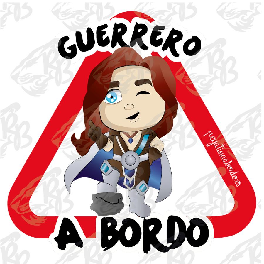 GUERRERO PROTECTOR A BORDO