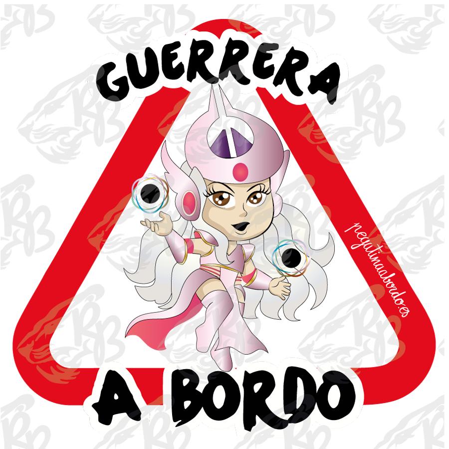 GUERRERA HECHICERA A BORDO