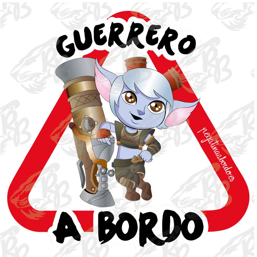 GUERRERO AVENTURERO A BORDO