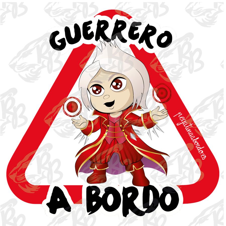 GUERRERO HECHICERO A BORDO