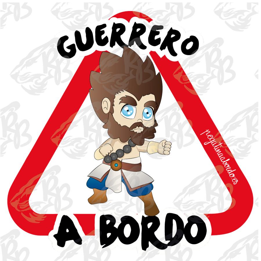 GUERRERO BARBUDO A BORDO