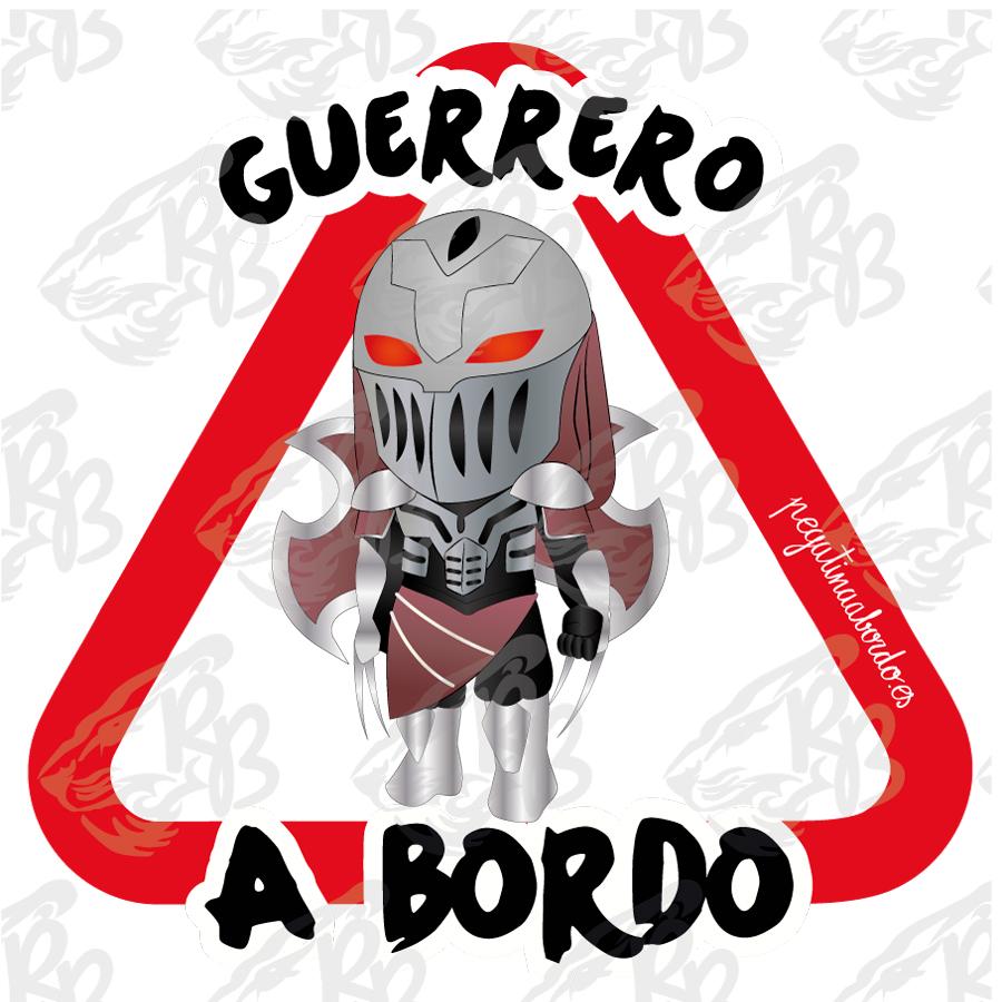 GUERRERO TENEBROSO A BORDO