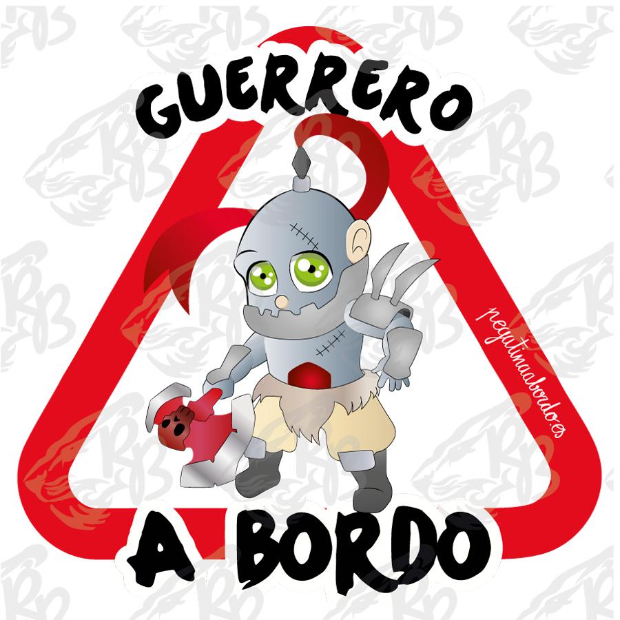 GUERRERO ARMADURA PLATEADA