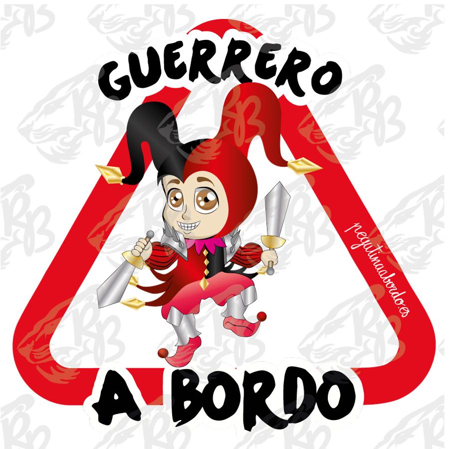 GUERRERO BUFÓN A BORDO
