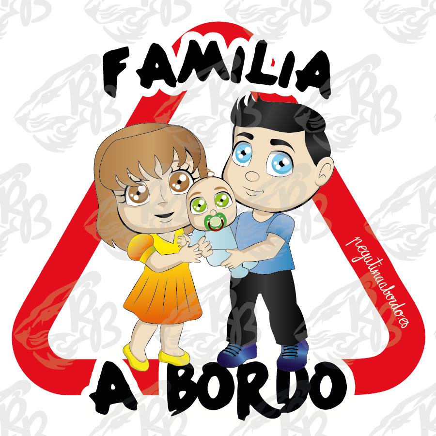 FAMILIA 02 CON NIÑO A BORDO