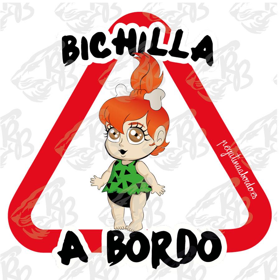 BICHILLA BEBE PELIRROJA EDAD DE PIEDRA A BORDO