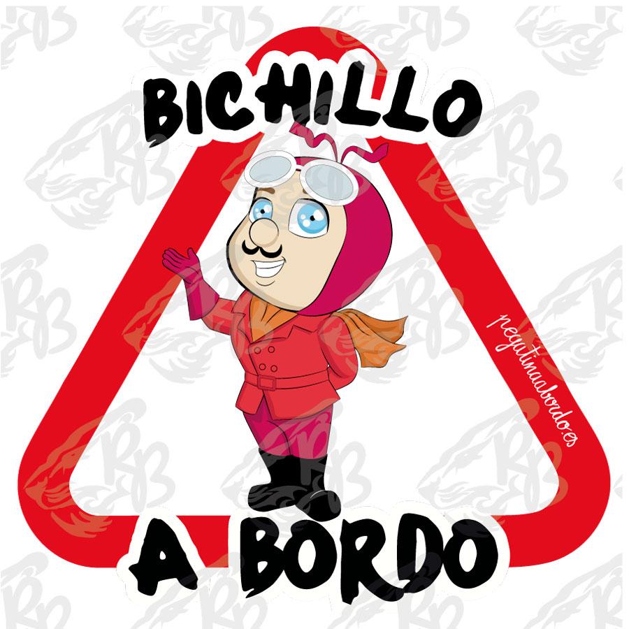 BICHILLO CON BIGOTE A BORDO