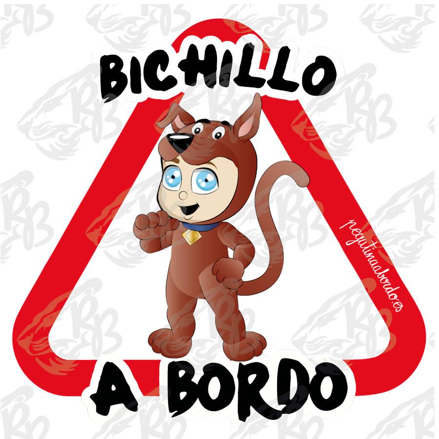 BICHILLO DETECTIVE PERRO A BORDO